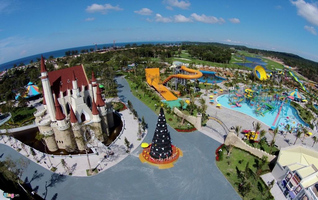 Парк развлечений Винперл Лэнд на острове Фукуок во Вьетнаме