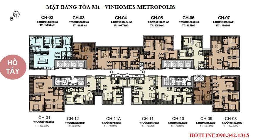 Khu do thi Vinhomes Metropolis Lieu Giai