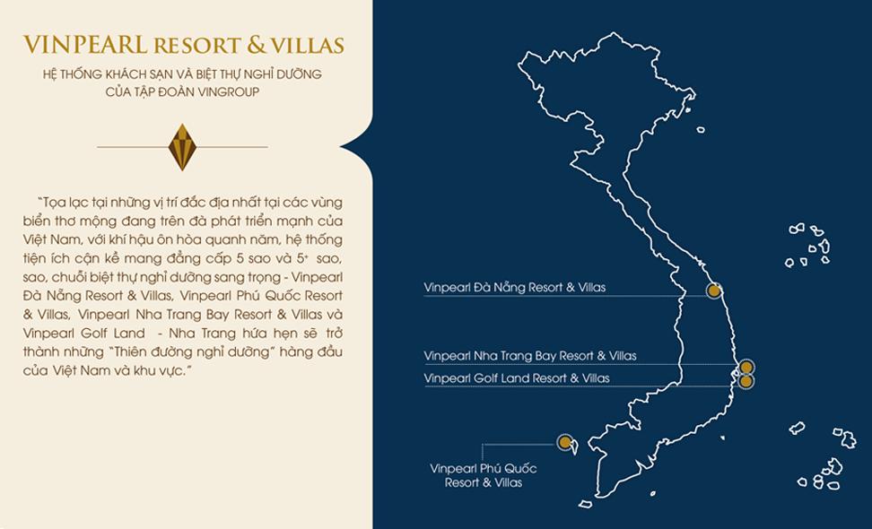 Vi tri vinpearl phu quoc resort & Villas