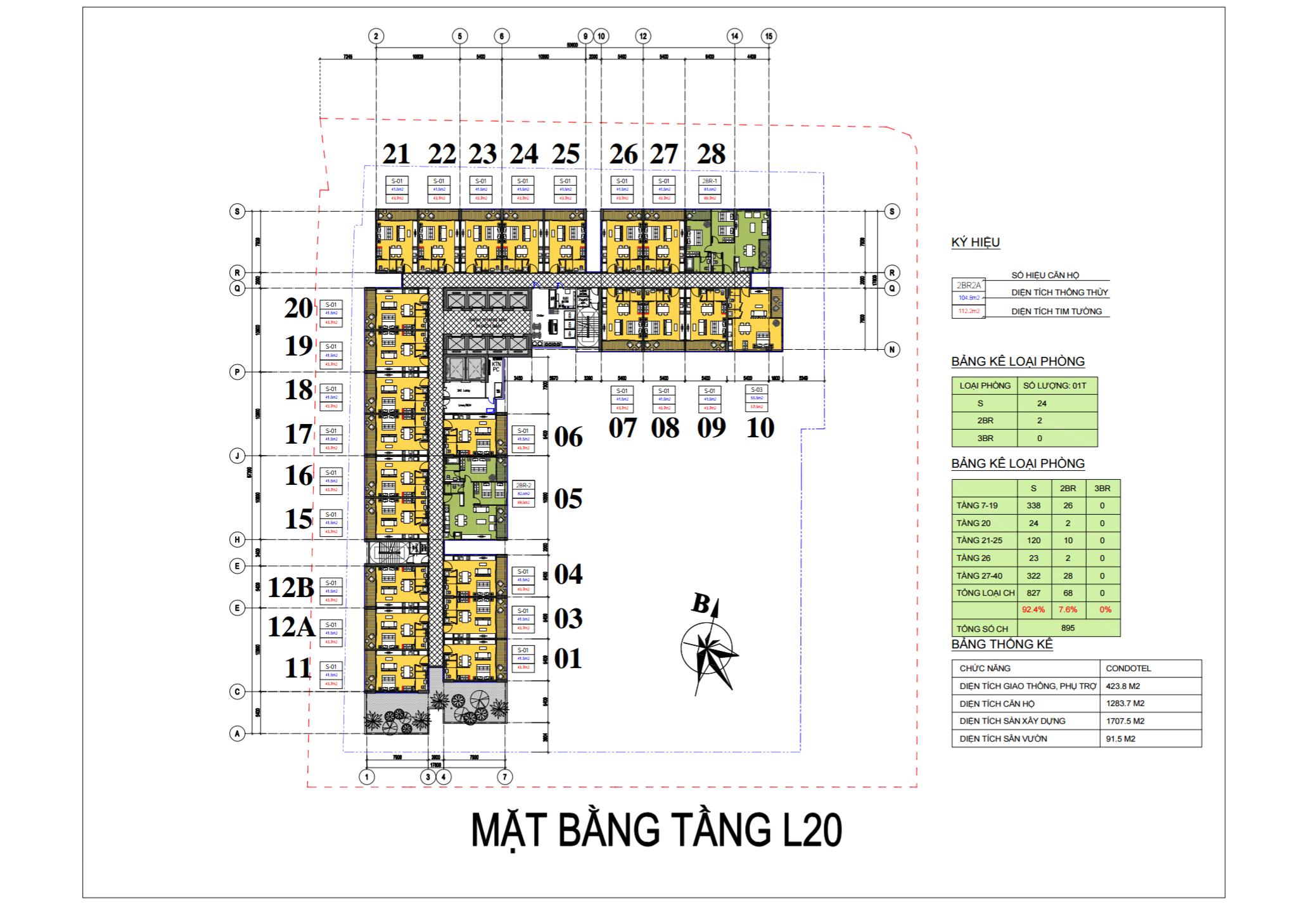mat bang vinpearl beach front condotel tran phu tu tang 20
