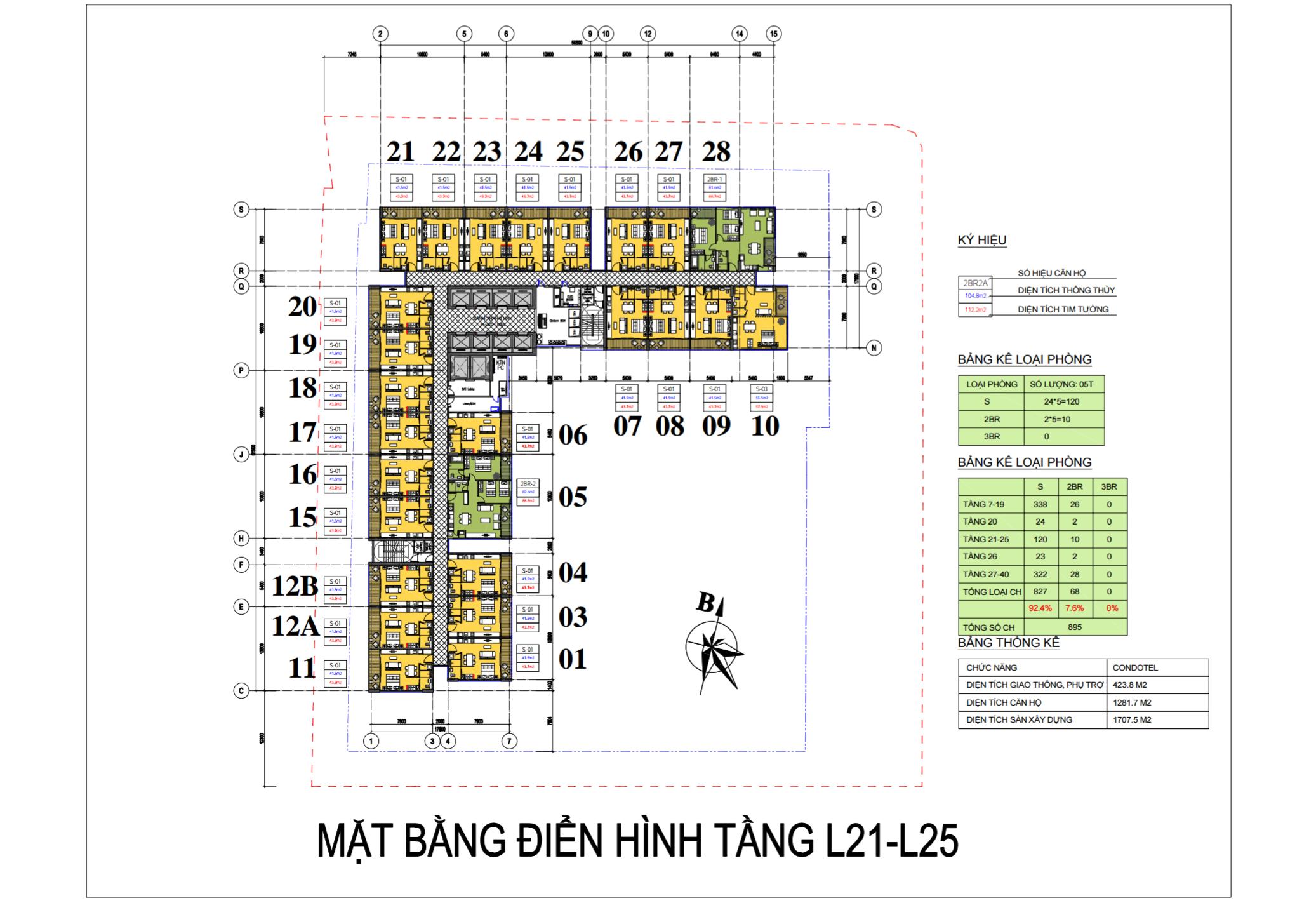 mat bang vinpearl beach front condotel tran phu tu tang 21 - 25