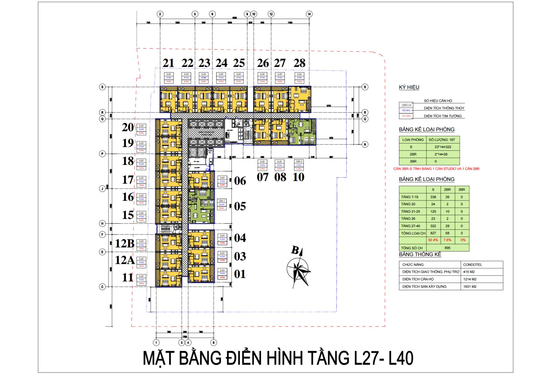mat bang vinpearl beach front condotel tran phu tu tang 27 - 40