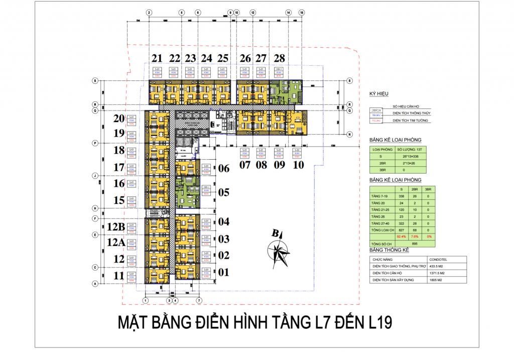 mat bang vinpearl beach front condotel tran phu tu tang 7 - 19