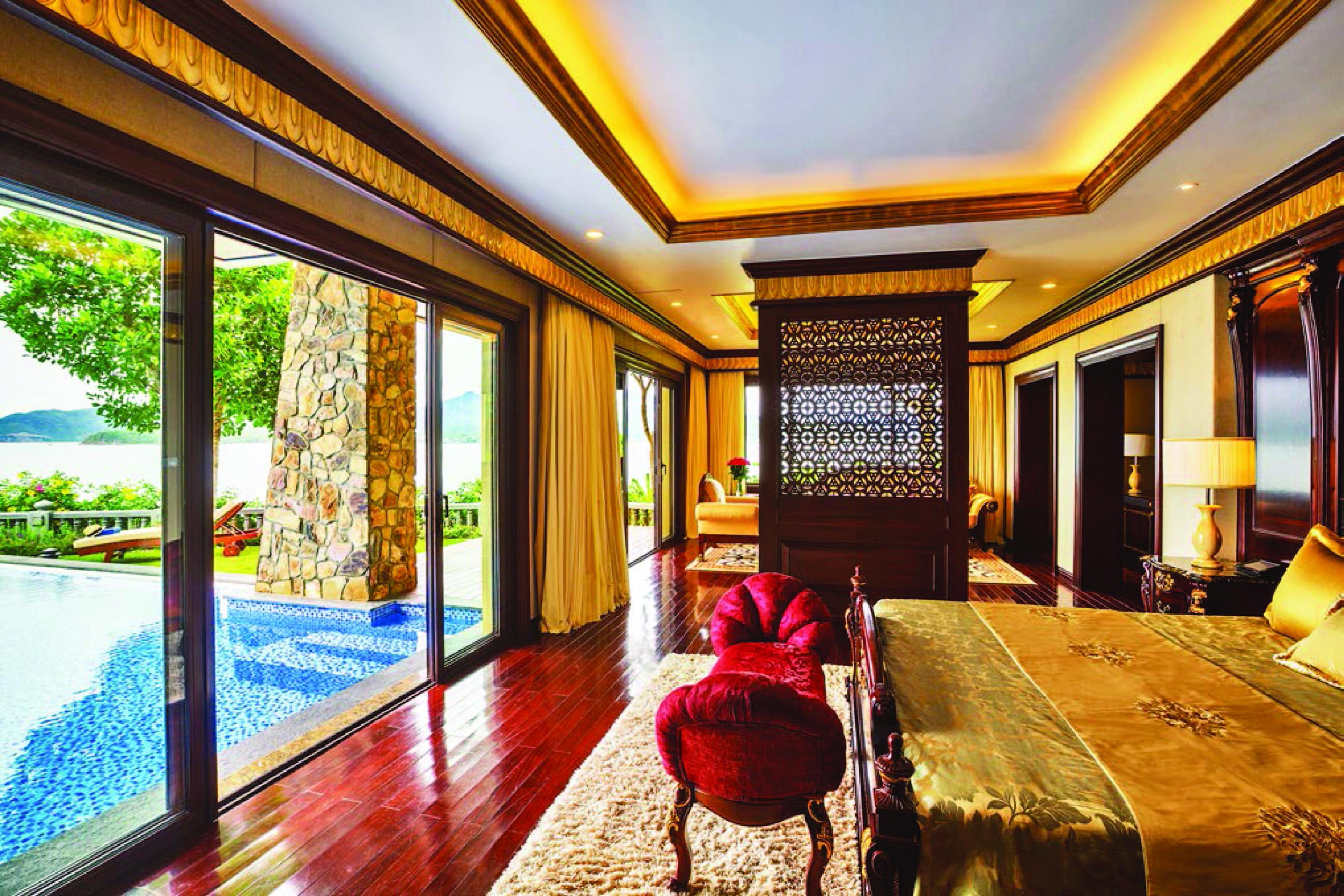 Khong gian dang cap tai Vinpearl Luxury Nha Trang