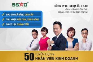 Tuyển dụng: 50 Nhân viên kinh doanh Bất động sản