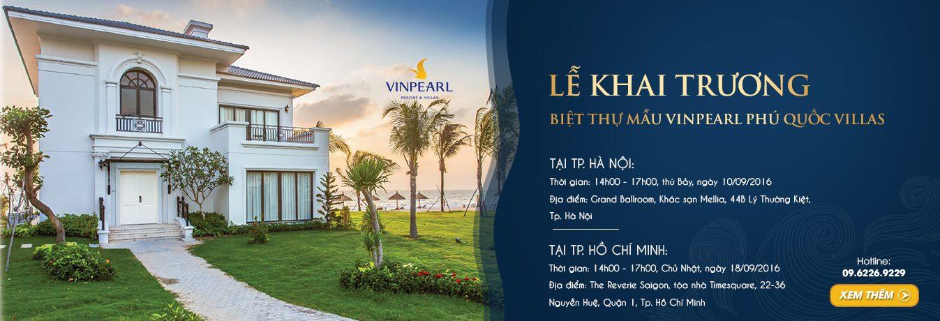 Vingroup khai trương biệt thự mẫu Vinpearl Phú Quốc Villas