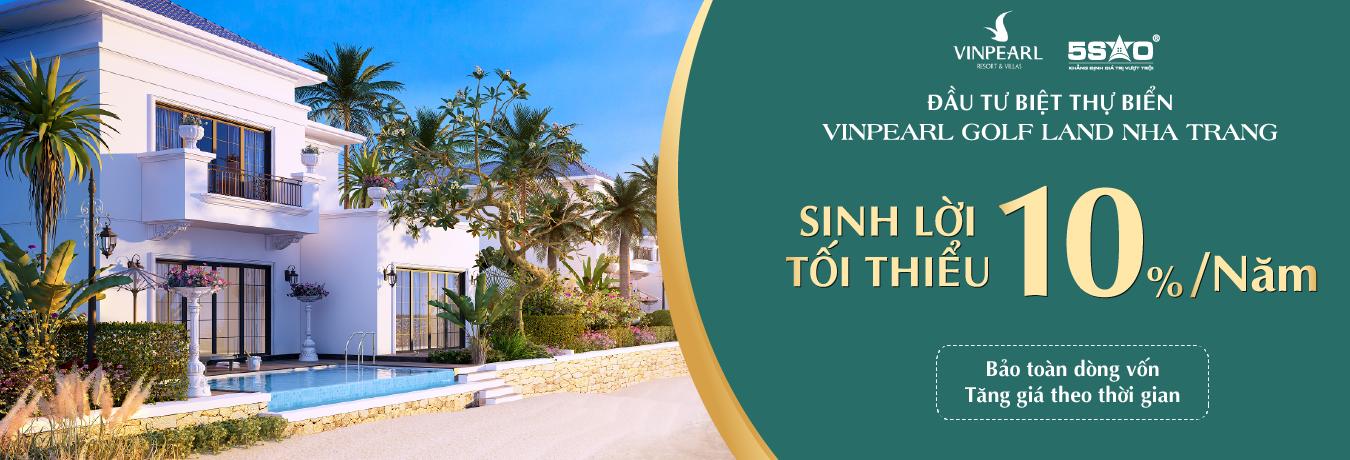 Mở Bán Biệt Thự Biển Vinpearl Golf Land Nha Trang tại Thái Nguyên