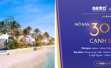 Duy nhất tháng 11: Lễ mở bán 30 căn biệt thự 5 sao đẹp nhất cạnh sân golf Nha Trang tại Hà Nội