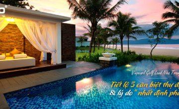 """Tiết lộ 5 căn biệt thự SIÊU ĐẸP tại Vinpearl Golf Land Nha Trang & lý do """"nhất định phải mua"""""""