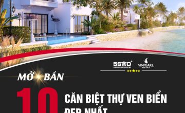 Mở bán 10 căn biệt thự ven biển đẹp nhất DÀNH RIÊNG NHÀ ĐẦU TƯ TẠI HẢI DƯƠNG