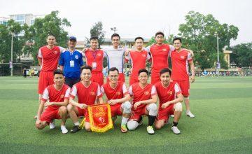 Hình ảnh khai mạc giải bóng đá VARS-CUP 2018, cập nhật kết quả đội nhà