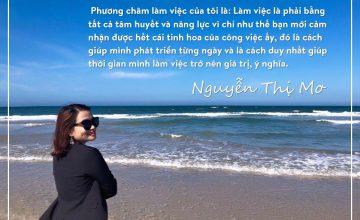 Trưởng nhóm Nguyễn Mơ – Cô ấy mạnh mẽ, quyết đoán, có khả năng dùng người tốt