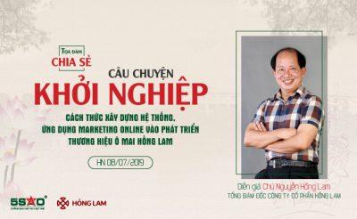 Kick off quý III: Khi ông chủ thương hiệu Ô mai Hồng Lam ghé thăm Địa Ốc 5 Sao