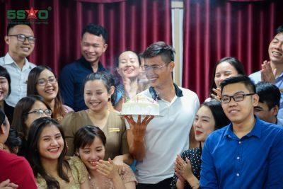 Địa Ốc 5 Sao tưng bừng tổ chức sinh nhật quý III/2019 cho nhân sự