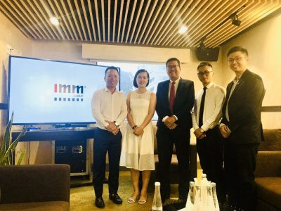 Địa Ốc 5 Sao chính thức trở thành đối tác hợp tác phát triển của IMM Group