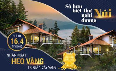 Sở hữu biệt thự nghỉ dưỡng núi Sapa Jade Hill nhận ngay HEO VÀNG