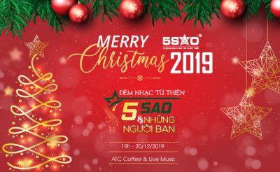 """Địa Ốc 5 Sao tổ chức đêm nhạc Noel từ thiện: """"5 Sao và Những người bạn"""""""