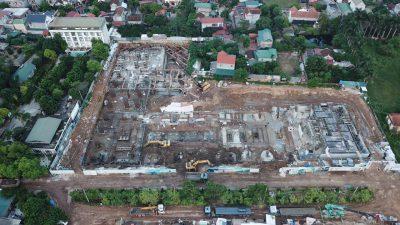 Tiến độ xây dựng Wyndham Thanh Thủy 2020
