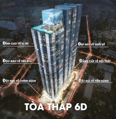 Dự án căn hộ khách sạn A La Carte – giá chỉ từ 600 triệu bởi Taseco Land
