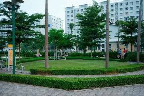 Không gian sống chung cư Ehome quận 9