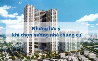 lưu ý xem hướng mua nhà chung cư