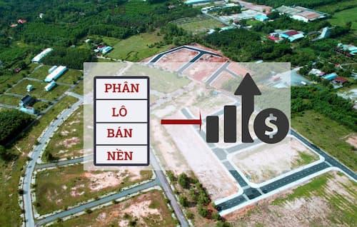 Quy trình thủ tục mua đất phân lô bán nền