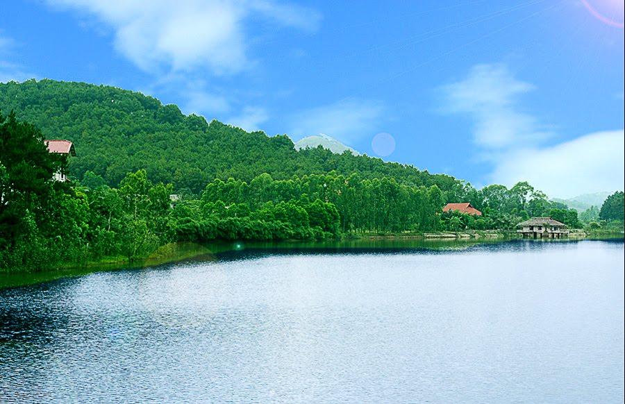 Thung lũng xanh – hồ Kẻo Cà
