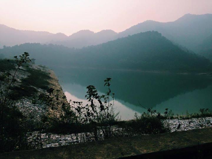 Du lịch hồ Hoa Sơn Sóc Sơn