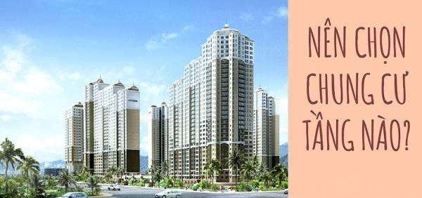 Ở chung cư nên chọn tầng nào?