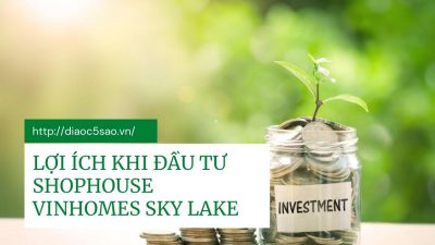 Tại sao nên đầu tư shophouse Vinhomes Sky Park Bắc Giang?